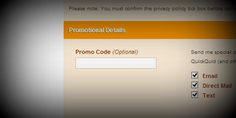 QuickQuid Promo Code 2014